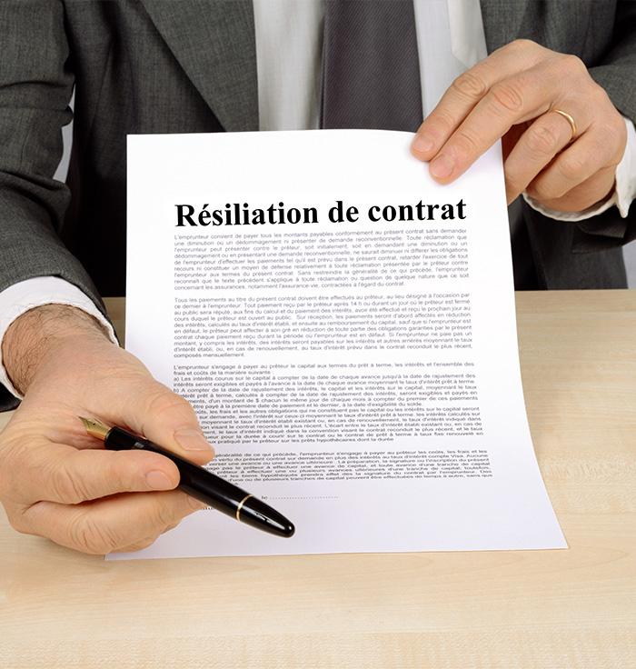 Motifs de résiliation d assurance